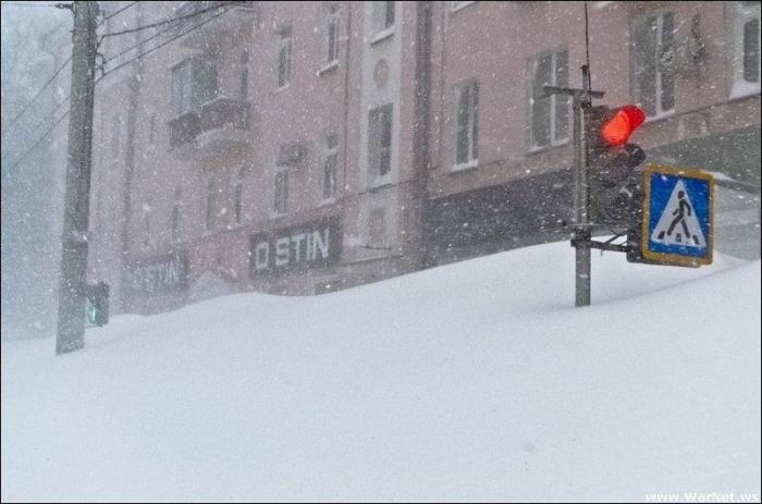 Зима во Владивостоке