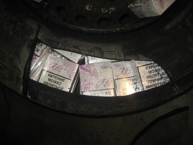 Уловки контрабандистов сигарет