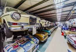 Самая большая в мире коллекция классических британских автомобилей из Новой Зеландии