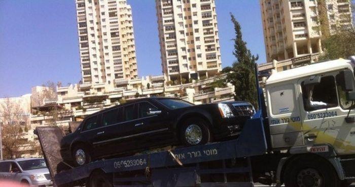 Израильский конфуз Обамы: президентский лимузин по ошибке заправили бензином вместо дизеля