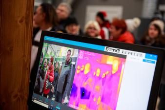 Тепловизионные камеры появятся в Таллиннском аэропорту уже в четверг