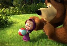 """Российский мультфильм """"Маша и медведь"""" собрал на YouTube более миллиарда просмотров"""