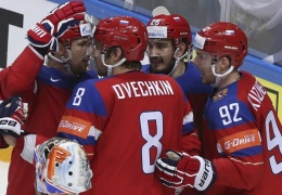 Сборная России пробилась в полуфинал чемпионата мира по хоккею
