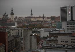 Синоптик о мраке в Таллинне: Эстонию накрыл дым из Португалии и пыль из Сахары