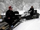 Дмитрий Медведев и Владимир Путин на горнолыжном курорте «Красная Поляна»