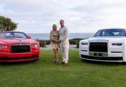 Супруги отпраздновали годовщину свадьбы с изготовленными для них на заказ эксклюзивными Rolls-Royce