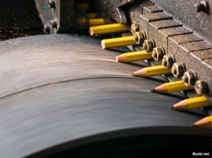 Как делают карандаши на заводе, работающем с 1889 года