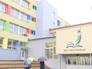В здании Йыхвиской русской школы возобновились занятия после ремонта