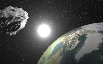 К Земле в ночь на четверг приблизится гигантский астероид