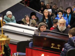 "В Воркуте простились с горняками, погибшими на шахте ""Северная"""