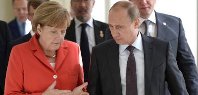 Путин и Меркель встретятся в Сочи 18 мая