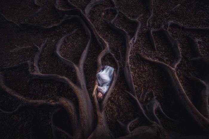 Фотографии с оттенком мистики Бенджамина Хардмана