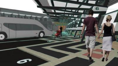 В Нарве предпринимают новую попытку отремонтировать автовокзал