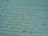 Вот, что значит писать «как курица лапой»