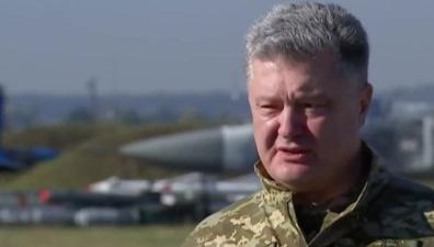 Порошенко рассказал миру о невероятной мощи украинской авиации
