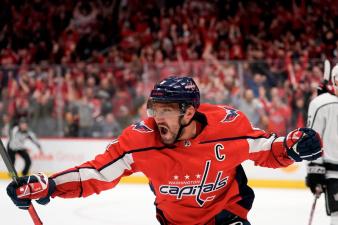 Рекорд Овечкина в НХЛ назван главным событием нынешнего сезона