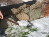 Град погубил урожай и цветы в нескольких садоводствах под Нарвой