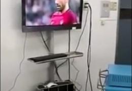 Хирурги смотрели матч Кубка конфедераций во время операции