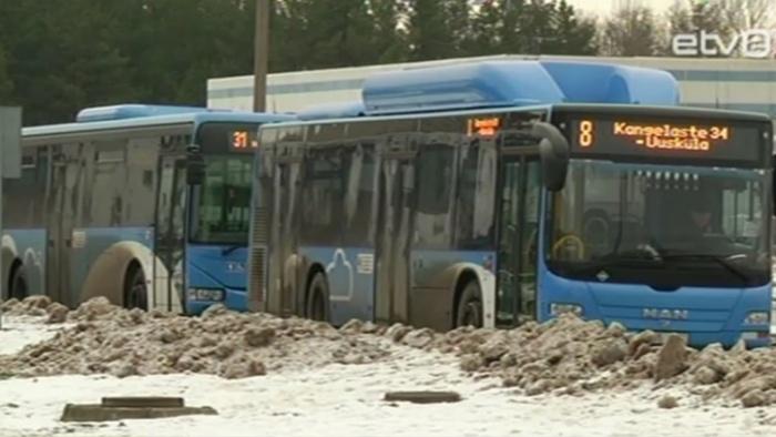 Narva Bussiveod получит в январе от города дотацию в размере 139 000 евро