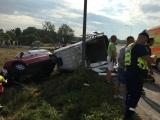 в Мурасте машина скорой помощи попала в ДТП