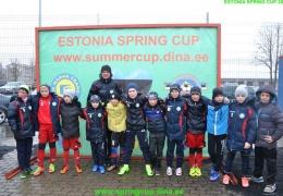 В Нарве прошел международный футбольный фестиваль «EstonianSpringCUP 2017»