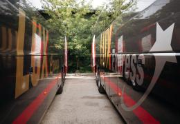 Компания Lux Express уволила водителя автобуса с признаками остаточного опьянения
