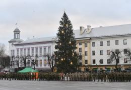 ФОТО: Керсти Кальюлайд в Нарве почтила память участников Освободительной войны