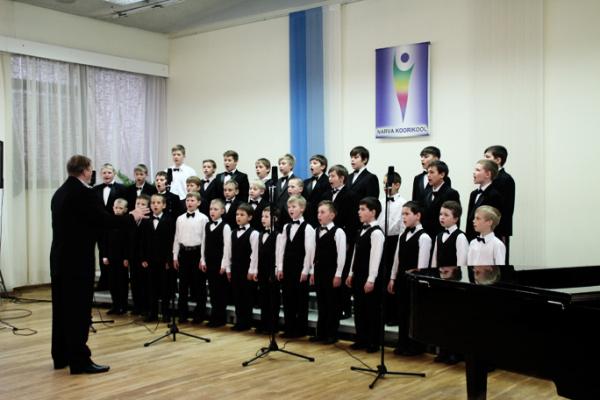 Нарвской хоровой школе прошёл фестиваль «Поют мальчишки 2016»