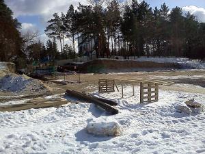 Строительство променада в Нарва-Йыэсуу затягивается