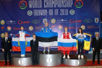Эстонская спортсменка привезла золото с ЧМ по таэквондо среди юниоров