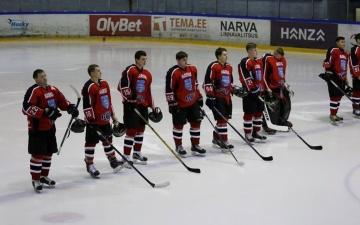 Нарвские хоккеисты проиграли все три матча на Континентальном кубке