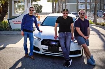 Новый рекорд: американцы на Audi A6 пересекли США за 25 часов