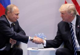 Трамп поздравил Путина с победой на выборах