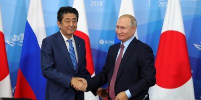 """Путин предложил """"без всяких предварительных условий"""" заключить мирный договор с Японией до конца года"""