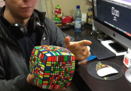 Это просто нереально мегакубик мега-рубика