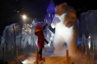 Потрясающие ледяные скульптуры