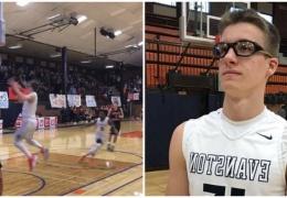 15-летний подросток стал звездой школы после своего невероятного победного броска в баскетбольном матче