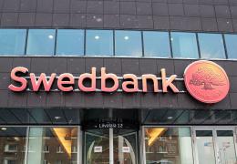 Прибыль Swedbank в первом квартале выросла на 5,7% до 47 млн евро
