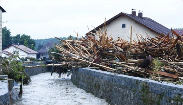 После наводнения в Германии