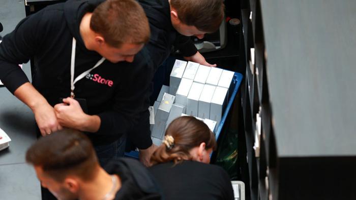 Старт продаж iPhone 7 в Москве