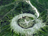 """Таинственный кратер: Кондерский массив, который называют """"горой сокровищ"""""""