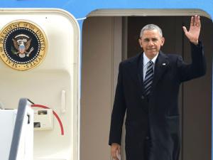 Обама прибыл в Германию для сложных переговоров об условиях трансатлантического партнерства