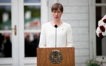 Керсти Кальюлайд заявила о готовности баллотироваться на второй срок