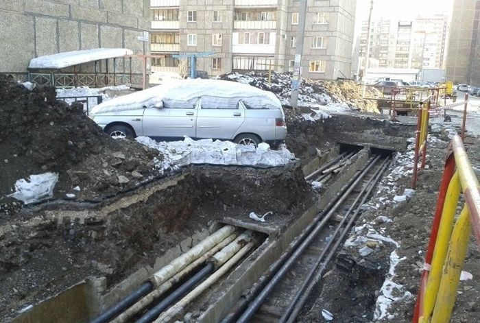 Коммунальная служба наказала невинного автовладельца