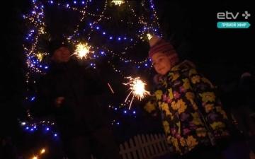 """нарвские дети """"спасли Новый год"""""""