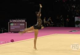 Выступление россиянки Дарьи Кондаковой показал невероятный результат в гимнастике