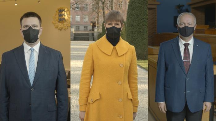 Видеообращение руководства Эстонии: приложим усилия, чтобы не закрывать страну на замок