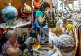 Как делают ёлочные игрушки. Фабрика «Ариель»