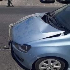 Как не надо буксировать автомобиль