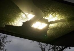 На территории Ореховой горки в Нарве вандалы повредили 12 фонарей